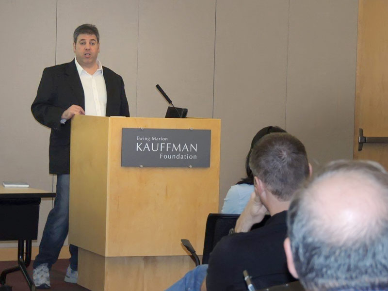 Speaking at the Kauffman Foundation